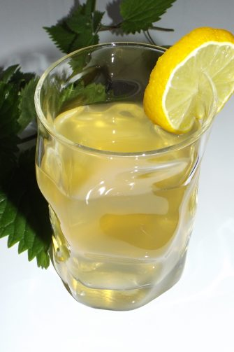Maté froid à la menthe, citron et ortie2