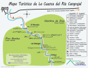 Cangrejal River in La Ceiba Map