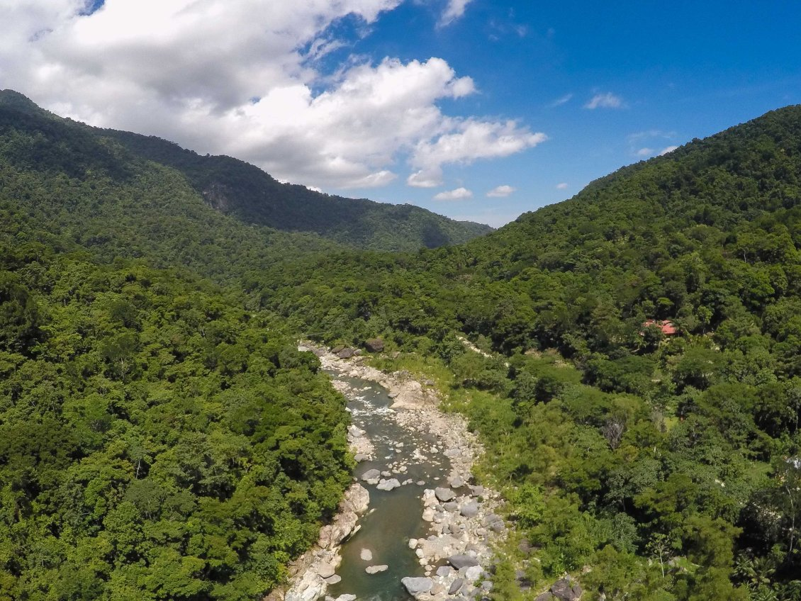 about the Cangrejal River