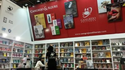 Stand Cangrejo Editores, FIL 2014