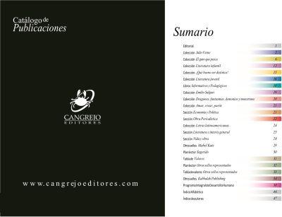 portada catalogo de publicaciones
