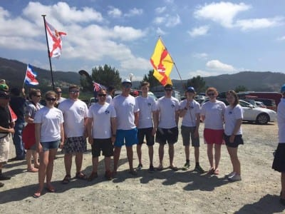 ni squad at surf world champs 2015