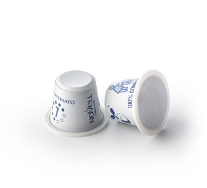 Decaffeinato no waste compostable capsules organic premium coffee