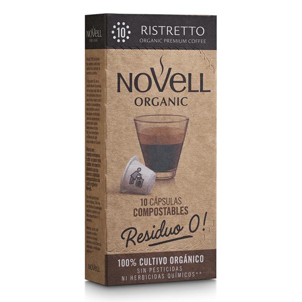 Ristretto Organic premium coffee no waste compostable capsules