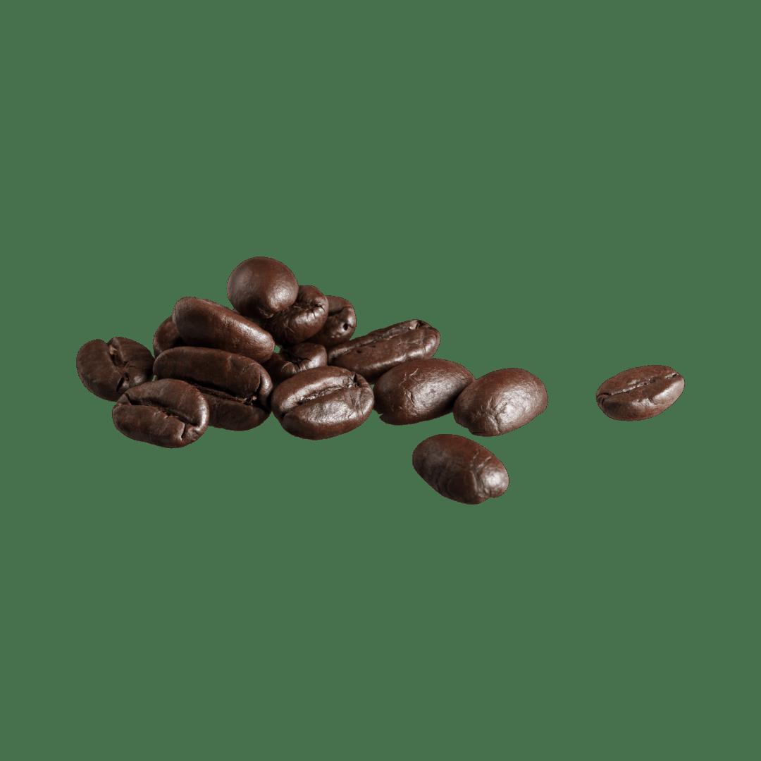 koffieboon zonder achtergrond