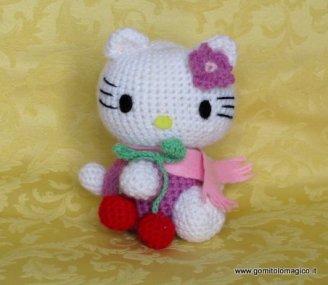 Hello Kitty Amigurumi (Örgü Oyuncak) Modelleri (1)