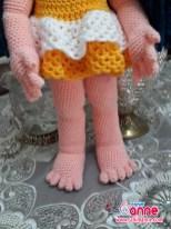 Amigurumi Ahu Bebek Örülüşü