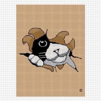 Kanaviçe Kedi (12)