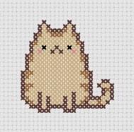 Kanaviçe Kedi (15)