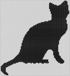 Kanaviçe Kedi (19)
