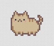Kanaviçe Kedi (4)