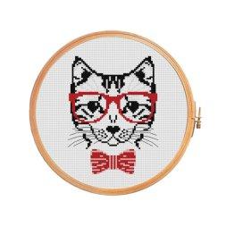Kanaviçe Kedi (52)