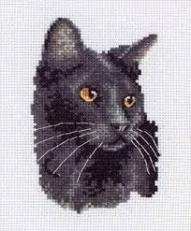 Kanaviçe Kedi (80)