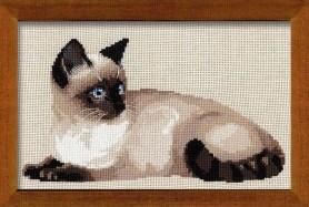 Kanaviçe Kedi (9)