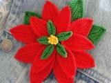 Tığ İşi Çiçek Motifi Modelleri (10)