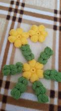 Çiçekli Lif Modeli Yapılışı (15)