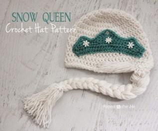 Elsa Örgü Bere Modeli Frozen Hat Crochet (17)