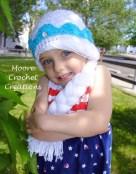 Elsa Örgü Bere Modeli Frozen Hat Crochet (20)