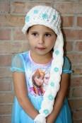 Elsa Örgü Bere Modeli Frozen Hat Crochet (23)