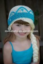 Elsa Örgü Bere Modeli Frozen Hat Crochet (27)