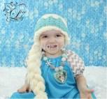 Elsa Örgü Bere Modeli Frozen Hat Crochet (31)