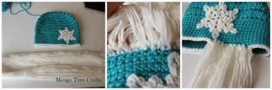 Elsa Örgü Bere Modeli Frozen Hat Crochet (43)