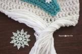 Elsa Örgü Bere Modeli Frozen Hat Crochet (8)