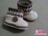 Erkek Bebek Bot Patik Örülüşü (3)