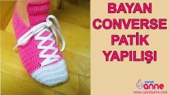 Bayan Converse Patik Yapılışı