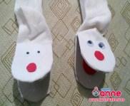 Çorap ile El Kuklası Yapılışı - Kendin Yap - Geri Dönüşüm - Okul Öncesi