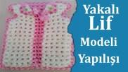 Yakalı Lif Modeli Yapılışı - Lif Modelleri