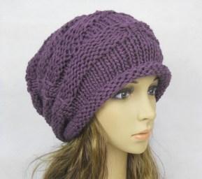 El Örgüsü Bayan Şapka Modelleri
