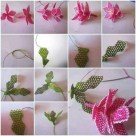 İğne Oyası Küpe Çiçeği Örnekleri (1)
