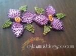 İğne Oyası Küpe Çiçeği Örnekleri (21)
