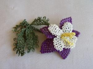 İğne Oyası Küpe Çiçeği Örnekleri (6)