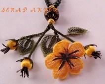 İğne Oyası Küpe Çiçeği Örnekleri (71)