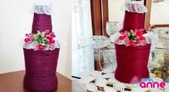 Cam Şişeden Dekoratif Süsleme Yapımı - Kendin Yap - DIY