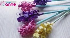 Kağıt ile Sümbül Çiçeği Yapımı