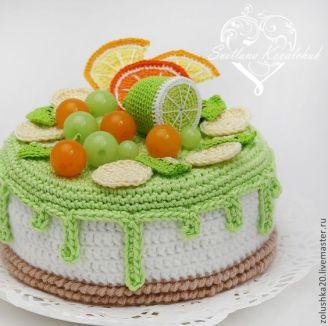Örgü ile yapılan harika pasta modelleri (1)