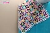 Papatya Motif Battaniye Yapımı