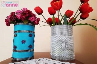 Evde Kırılmaz Vazo Yapımı - Kendin Yap - DIY