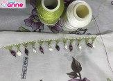 Limon çekirdeği iğne oyası yapımı-6