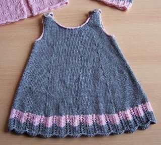 Bebek Yazlık Örgü Elbise Modelleri-11