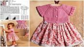 Bebek Yazlık Örgü Elbise Modelleri-12