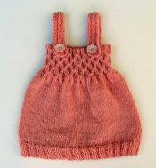 Bebek Yazlık Örgü Elbise Modelleri-15