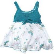 Bebek Yazlık Örgü Elbise Modelleri-18