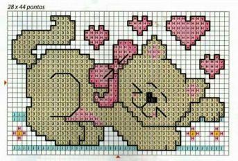 Kanaviçe (Etamin) Kedi Şablonları (19)