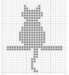 Kanaviçe (Etamin) Kedi Şablonları (2)