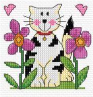 Kanaviçe (Etamin) Kedi Şablonları (24)