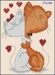 Kanaviçe (Etamin) Kedi Şablonları (4)